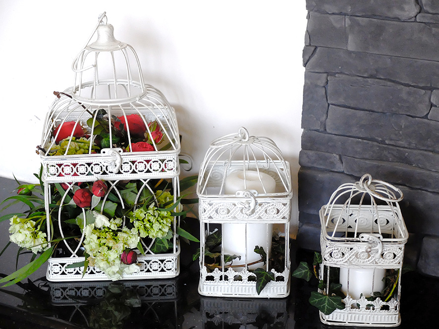 PORTFOLIO Florystyka - Dekoracyjne klatki 1