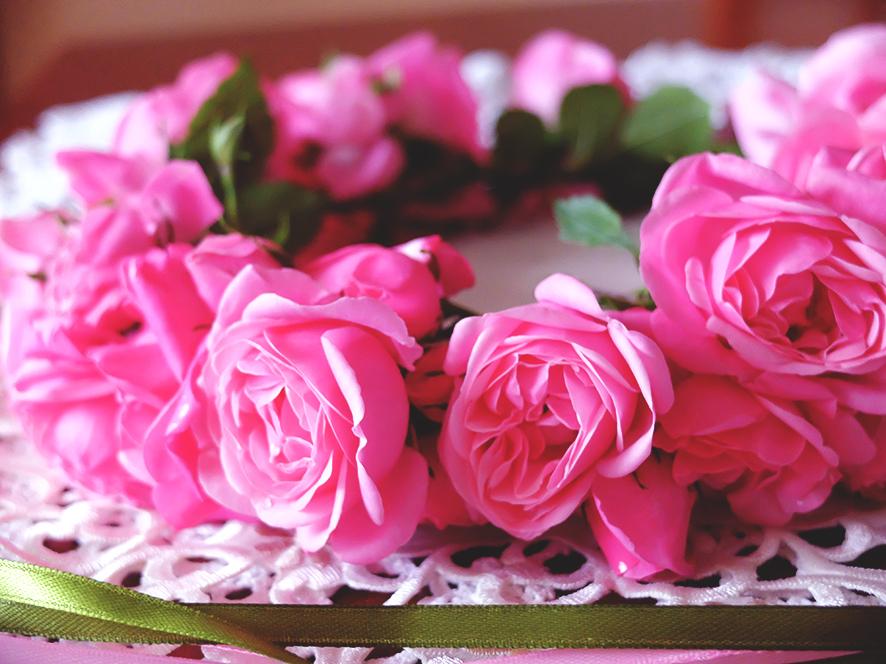Różany wianek Floralia 2